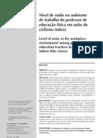 Ruído_ambiente_aulas deciclismo