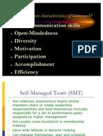Self Managed Teams