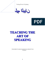 66553131 Teaching the Art of Speaking by Hazrat Moulana Ashraf Ali Thanwi