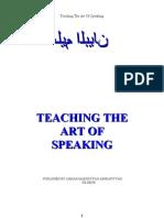 66553131 Teaching the Art of Speaking by Hazrat Moulana Ashraf Ali Thanwi