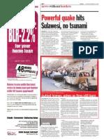 TheSun 2008-11-18 Page10 Powerful Quake Hits Sulawesi No Tsunami