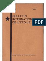 Bulletin International de L'Étoile N°16 Mai 1929 par J. Krishnamurti