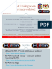 MyPSA Visit to Pharmaceutical Services Department