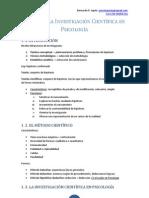 Fundamentos de investigación - Resumen