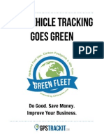GPS Vehicle Tracking Goes Green