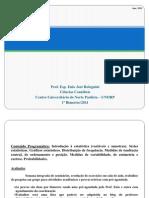 Apostila 1 - Slides de Estatística Aplicada a Ciências Contábeis - Métodos Quânticos