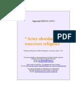 Freud, Sigmund - 1907 - Actes obsédants et exercices religieux