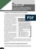 l Ecologie Politique en France