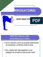 (2) INTERROGATORIO Y CONTRAINTERROGATORIO