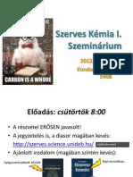 KZ Szerves szeminárium 1