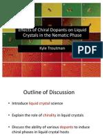 Liquid Crystal Chemistry
