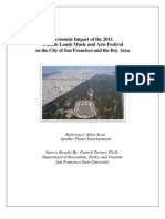 Outside Lands Economic Impact Report - Executive Summary