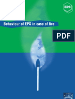 Behaviour of EPS in Case of Fire