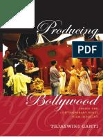 Producing Bollywood by Tejaswini Ganti