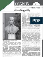 Lukács Gábor - A szabadkőműves Nagyváthy