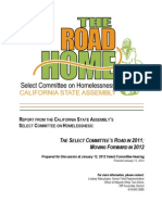 The Road Home - Select Committee on Homelessness 2011 Report