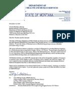 11-16-10 Montana Medicaid Part D Prescription Drug Program Section 1115 Waiver