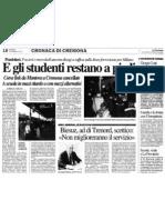"""E gli studenti restano a piedi (""""La Provincia"""", 20-01-2012, p. 18)"""