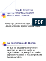 Taxonomia+Bloom Anderson
