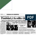 """Pendolari, è la solita vita (""""La Provincia"""", 05-01-2012, p. 19)"""