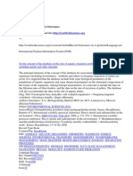 Bibliography of Dr. S.A.Ostroumov According to Internet service http://worldwidescience.org