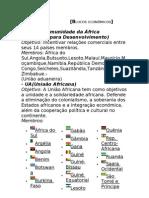 Blocos econômicos - (Trabalho feito por Fialdini)