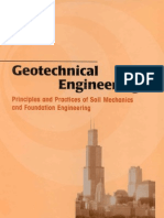 Geotechnical Engineering; Principles and Practices of Soil Mechanics and Foundation Engineering