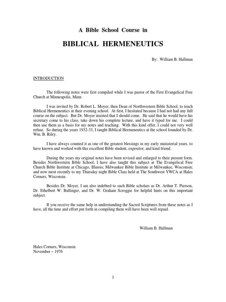 2015e76322 Biblical Hermeneutics