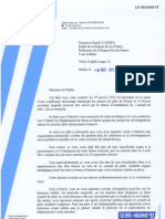 courrier CG77 prefet