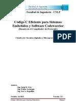 Codigo C Eficicnete Para Sistemas Embebidos y Code Warrior 2011
