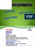 balastos HID electromagnéticos