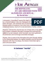 David Icke - The Reptilians