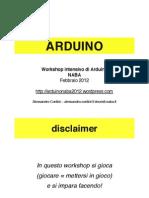 Arduino NABA 2012