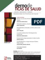 Cuaderno de Políticas de Salud, nº 07, marzo 2011