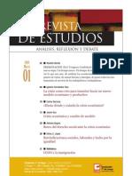 Revista de Estudios, nº 01, marzo 2009