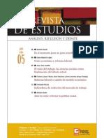 Revista de Estudios, nº 05, julio 2009