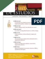 Revista de Estudios, nº 06, agosto 2009