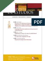 Revista de Estudios, nº 14, abril 2010