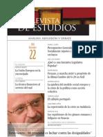 Revista de Estudios, nº 22, diciembre 2010