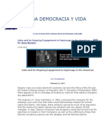 Cuba's Ongoing Engagement in Espionage in the Americas