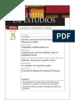 Revista de Estudios, nº 25, febrero 2011