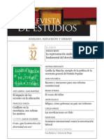 Revista de Estudios, nº 32, septiembre 2011
