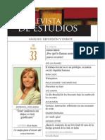 Revista de Estudios, nº 33, octubre 2011