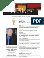 Revista de Estudios, nº 35, diciembre 2011