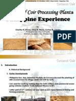 Carpio_Viability of Coir Processing Plants