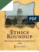 Ethics Roundup 2009