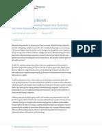 Manufacturing Bonds