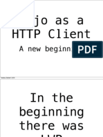 Mojo as a Client