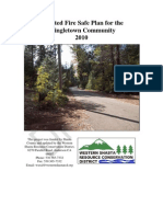 Shingletown Community Fire Safe Plan