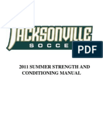 Men Soccer Workout Jacksonville University